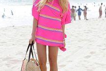 Looks playa para ella