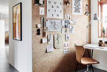 Cork board inspiration