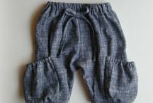free girls pants pattern + tutorials