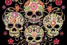Arte Con Calaveras Mexicanas