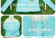 Recycle Sweater Yarn