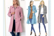 Sewing coats