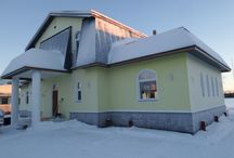 A private house in Rovaniemi / pictures of a planning project of mine.
