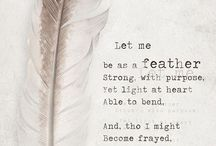 Feathers and all things beautiful / Inspiration and love