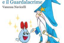 Mina e il Guardalacrime / Fiaba illustrata che inaugura la collana delle Fiabe Bonbon http://vanessanavicelli.com/mina-guardalacrime/