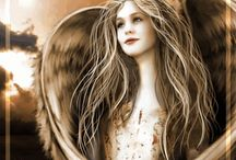 Living a fairytale / Pictures of myth creatures, like angels and unicorns