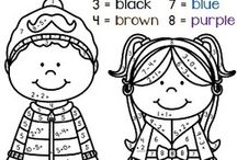 colouring pges