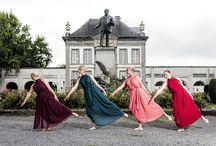 Danseurs dans la ville