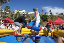 Team Building Beach Olympics / Organization of outdoor and team building activities in Marbella, ideal for corporate groups .Specialist in  outdoor activities and events in marbella,