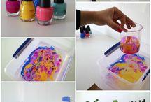nail polish creativity