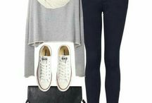 Outfit con tenis