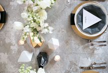modern wedding inspiration / by Courtney Spencer