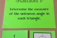 Practicum: Math (Angles and Triangles)
