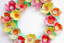 Kids Spring Crafts / Spring inspired arts, crafts and activities