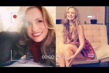 Aura Cristina Geithner se da a desear en tanga de hilo dental