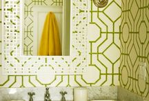fretwork pattern / It's everywhere!!  Classic, tried and true
