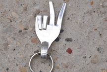 Fork Keychains / by Just For Me-Mi Jewelry