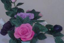 flower soap / Handmade flower soap, for decorate & air freshner