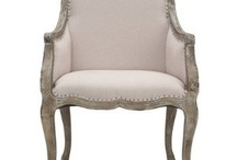Elegant pieces of furniture