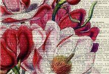 page de livre décorées
