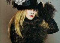 "Stevie Nicks is my Spirit Animal / On a personal note--I love Stevie Nicks style & songwriting.  You can find me twirling at ""NOTS"" (Night of a Thousand Stevies) in NYC every year! http://www.mothernyc.com/stevie/ / by Rev Annie Lawrence"