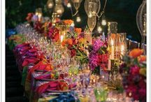 Jewel toned weddings