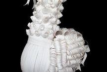 pelucas de papel