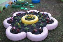 Jardim / jardins rurais