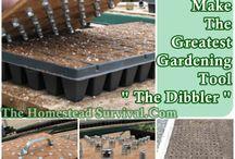 Verktyg trädgårdsskötsel