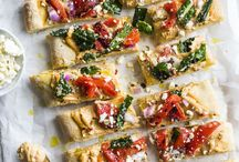 .healthy pizza. / Healthy recipes, grain free, dairy free, gluten free, paleo, primal, clean eating, weight loss recipes, sugar free, healthy meals, easy meals, simple, soups, veggies, diet, nourish bowls, vegetarian, vegan, plant based