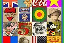Pop Art / Happy Birthday Sir Peter Blake 25/06