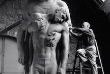 Híres szobrászok alkotásai