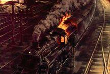 Railway Paintings