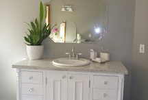 Nice bathrooms and vanities!