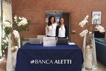 TOUR BANCA ALETTI / Logistica, Allestimenti, Grafica e Stampa