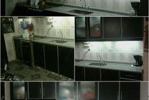 luces en la cocina