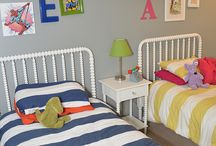 Twin boys bedrooms