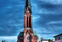 Kirker / By og land kirker.