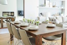 Dining room and tables