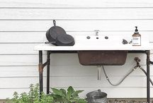 Outdoor Sink Ideas Backyards