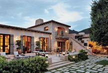 domy stredozemnomorský štýl