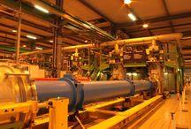 CERN / Evropská organizace pro jaderný výzkum se sídlem v Ženevě.