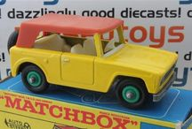 Matchbox cars / Matchbox series 1 - 75 by Lesney in this collection only modesl from the first period 1953 - 1970