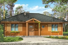 Domy z drewna / Wooden houses