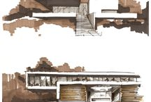 DRAWING - ARCHITECTURE SKETCHES