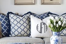 Blue and White / by Cindy Hattersley Design/Rough Luxe Lifestyle Blog