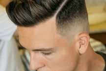 man hairstyle medium
