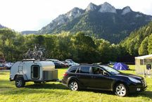 Offroad Teardrop Trailer / Group of two entusiasts from Slovakia who build offroad teardrop trailer inspired by Moby1