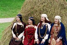 Baltic Iron Age Costume / Costume artifacts and recreations of costume in Lithuania, Latvia, Estonia and Finland up to the Viking age. / by Cathy Raymond