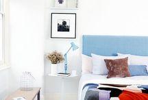 Buildmumahouse Paint Ideas / Paint colours and techniques to make downsized spaces look upsized